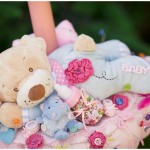 Lumanare botez – Lazy Teddy Bear